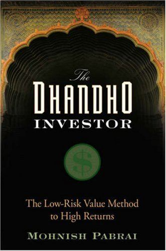 The Dhandho Investor - Mohnish Pabrai - 9780470043899