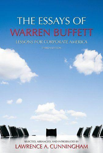 The Essays of Warren Buffett (Lawrence A. Cunningham) - 1611634091
