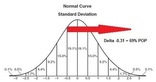 Define delta in stock options